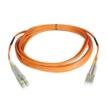 6ft LC to LC Duplex/Multi-mode 62.5/125 Fiber Optic Patch Cable, OM1, Orange