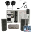 Infrared Classroom Audio System with Four Speakers