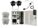 Infrared Classroom Audio System with Two CS308 Ceiling Speakers