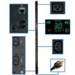 Single-phase Switched PDU, 30A 208/240V, 0U Vertical Rackmount