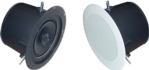 PSA802 --  Self Amplified Ceiling Mount Speaker; Color: White; Various options for audio inputs and power supply @ www.amkspeaker.com/build