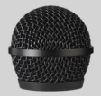 Replacement Grille for PGA58 Vocal Microphone, Black
