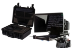 DSLR Teleprompter Kit with Hard Shell Case