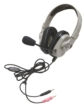 Wired Mac and PC Compatible Stereo Headset with 20Hz to 20KHz Frequency Response