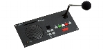 Digital Conferencing Delegate Flush Unit w/ 5 Voting Buttons, Channel Selector & Fixed Mic 15 in. (38 cm)
