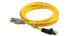 Digital Conferencing INT5500 / ID5500 Yellow Connection Cable 39.37 in. (1 m)