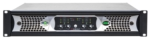 Network Power Amplifier with DSP: 4 x 400 Watts @ 2 Ohms 4 x 400 Watts @ 4 Ohms 4 x 400 Watts @ 70V