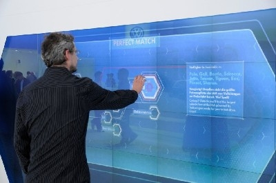 World premiere for omniSHAPES with Volkswagen at the IAA 2011