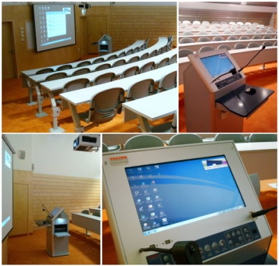College Expands, Chooses TechPod Classroom Lecterns!