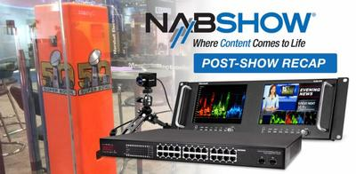 NAB RECAP: Innovative New Products From Marshall Electronics