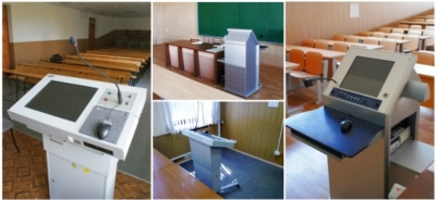 Ural State University Upgrade Classrooms with TechPod Lecterns