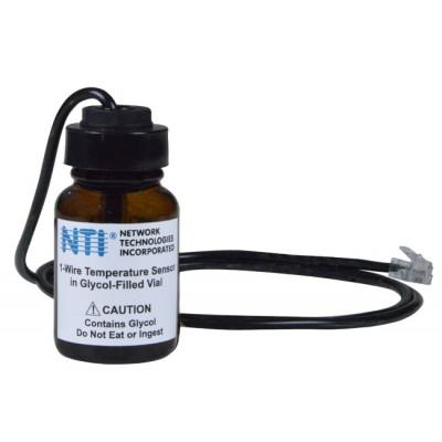 NTI Now Offering 1-Wire Temperature Sensor in Glycol-Filled Vial