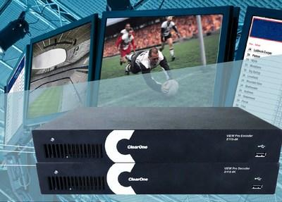 ClearOne's VIEW® Pro Multimedia Network AV Streaming Line Goes 4K