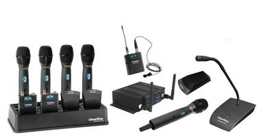 ClearOne® Debuts DIALOG® 20 Wireless Mic System With Native Integration For CONVERGE® Pro 2 Mixers