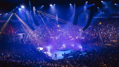Metallica and Meyer Sound LEO Inaugurate Quebec Arena with In-the-Round TM Array