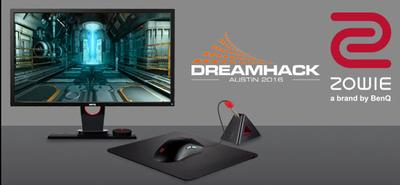 ZOWIE is DreamHack Austin 2016 Official eSports Monitor Brand