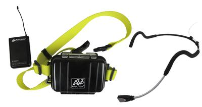 AmpliVox Introduces Fitness and Waterproof Packages for Active Professionals