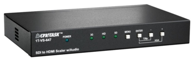 TV One-task Reveals SDI to HDMI Scaler with Audio