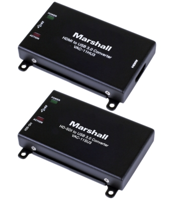 New Marshall USB 3.0 Converters Are Simple Solution to HDMI and SDI Computer Input