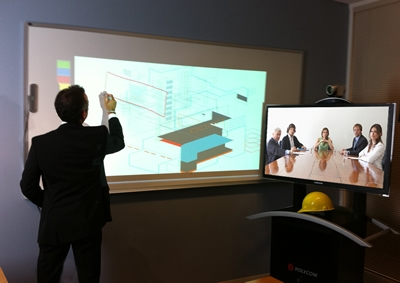 Polycom Turns Video Display Screens into Virtual Whiteboards with First Integrated Whiteboard Solution for Video Collaboration