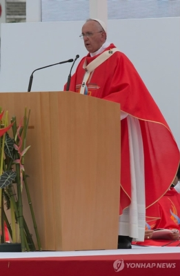 Earthworks FlexMics Capture Beatification Ceremony Conducted by Pope Francis in South Korea