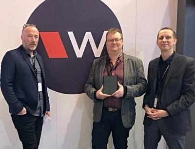 Williams AV Recognizes Europe/Middle East Distributor of the Year for 2018