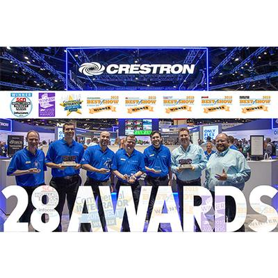 Crestron Wins Company-Best 28 Industry Awards at InfoComm® 2019