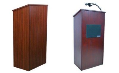 New Full Height Wood Lectern from AmpliVox Fits Every Style and Budget