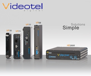 Videotel Digital (San Diego, CA)  Exhibits at Infocomm12 to Unveil Exclusive Industrial Video Products