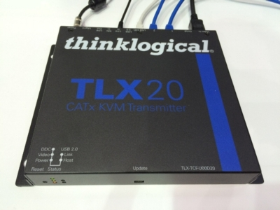 Thinklogical Introduces Uncompressed Hybrid CATx/Fiber KVM Solution at Compressed Prices