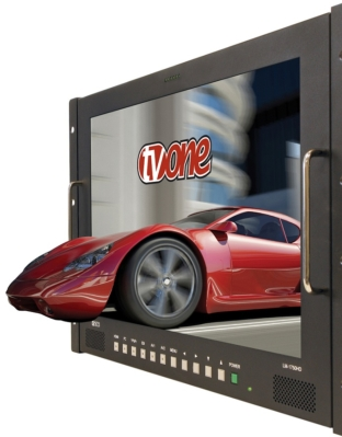 3D Processing with TV One at ISE 2011