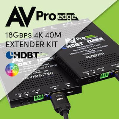 THE INDUSTRY'S MOST TRUSTED EXTENDER SET, THE 40M 444 KIT