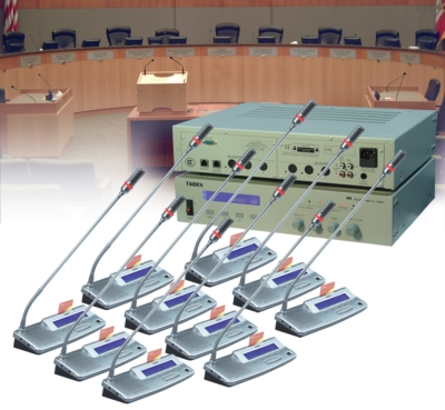 MEDIA VISION USA DEMONSTRATES TAIDEN HCS-4100/20 CONFERENCING SYSTEM