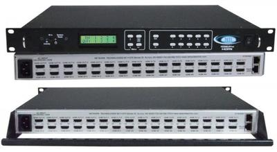 NTI's 16x16 4K HDMI Matrix Switch Now has Control4 Certified Driver Available