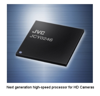 JVC LSI Enables High-speed Image Processing in HD Camcorders