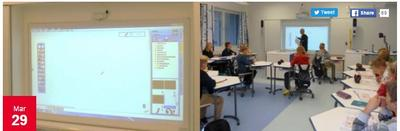 Hitachi - 5 benefits of teaching with an Interactive Projector