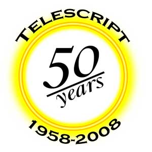 Telescript celebrates 50th year in prompting business