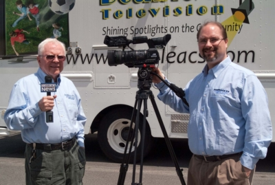 ATTLEBORO ACCESS USES JVC MOBILE NEWS CAMERAS TO PRODUCE LIVE REPORTS OF COMMUNITY EVENTS