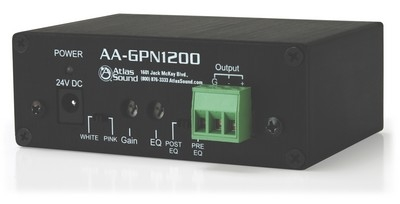 The Atlas Sound AA-GPN1200 Masking Generator