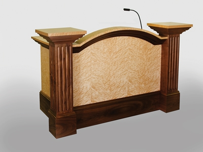 New Design for Courtroom ADA Desk