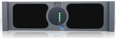 RTS Intercom Systems launches the ADAM-M compact intercom matrix frame at NAB 2010