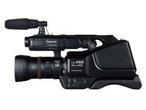PANASONIC ANNOUNCES DELIVERY/ PRICING OF AG-AC8PJ SHOULDER-MOUNTED AVCCAM CAMCORDER