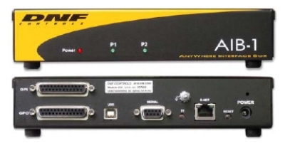DNF CONTROLS' ANYWHERE INTERFACE BOX PROVIDES MISSING LINK FOR CONTROL, MONITORING, AND INTERFACING