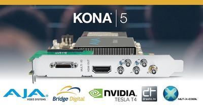 Bridge Digital Realizes New 4K HEVC Encoding Solution with AJA KONA 5