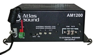 The Atlas Sound AM1200 Self-Contained Masking System