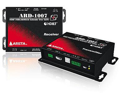 Arista Corporation Announces ARD-1007A   4K KVM HDMI® Digital Extender