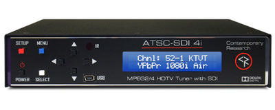 NOW SHIPPING-The ATSC-SDI 4i HDTV Tuner with SDI, HDMI, and IPTV Streaming Output