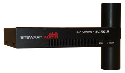 Stewart Audio Releases Pole Mount Power Amp for AV Market