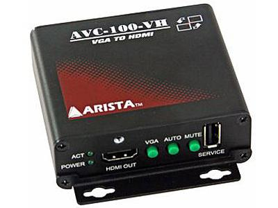 Arista Corporation Introduces the AVC-100-VH Video Converter with Scaler