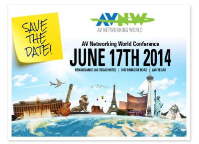 Atlas Sound to Participate in AV Networking World 2014